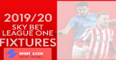 Sky Bet League One fixtures 2019