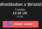 AFC Wimbledon vs Bristol City